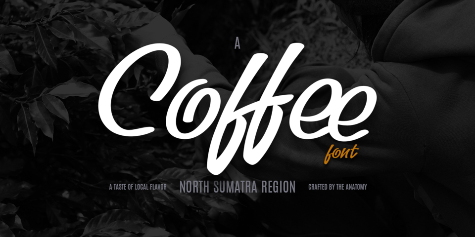 Coffee font page