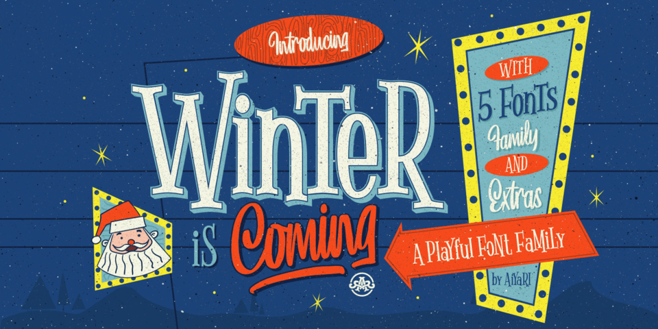 Winter Is Coming font page