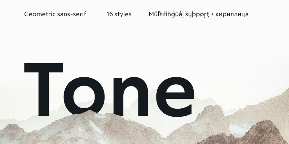 RF Tone font page