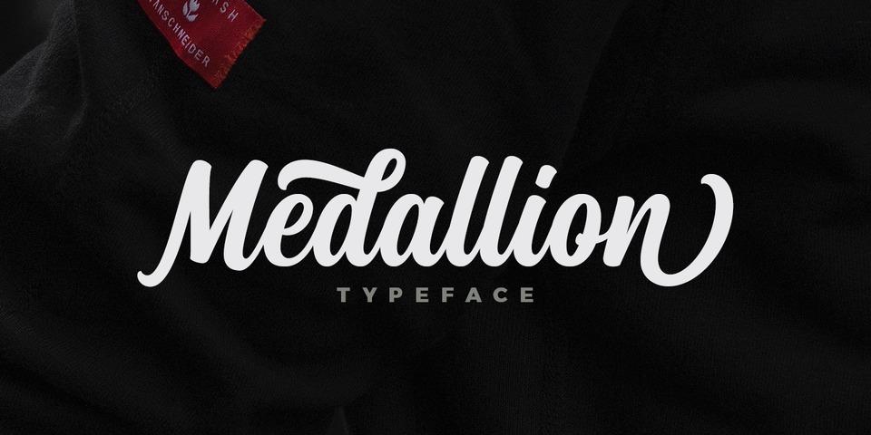 Medallion font page