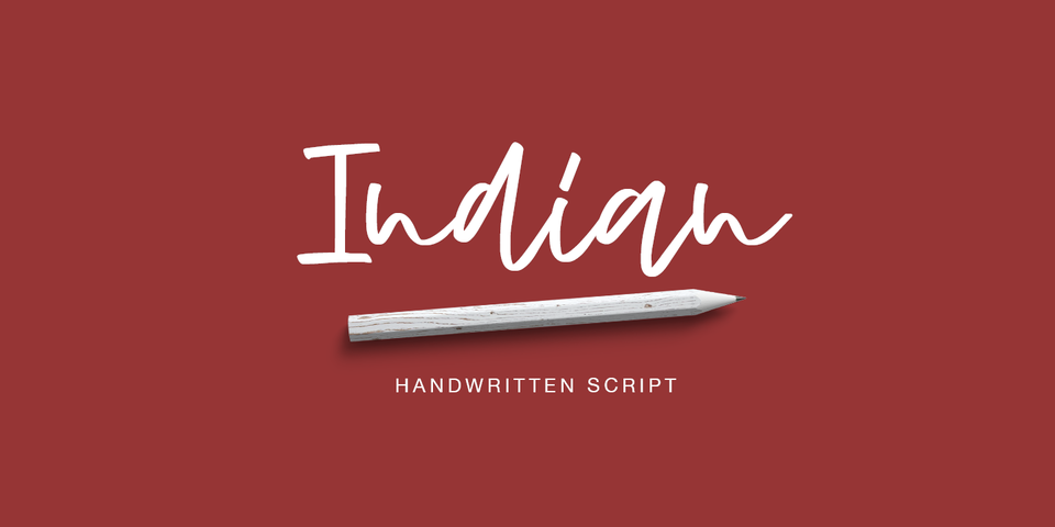 Indian font page