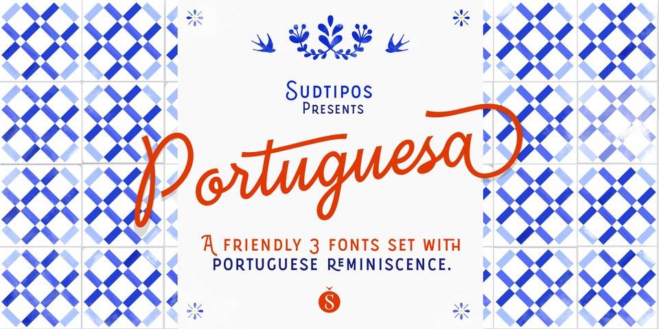 Portuguesa font page