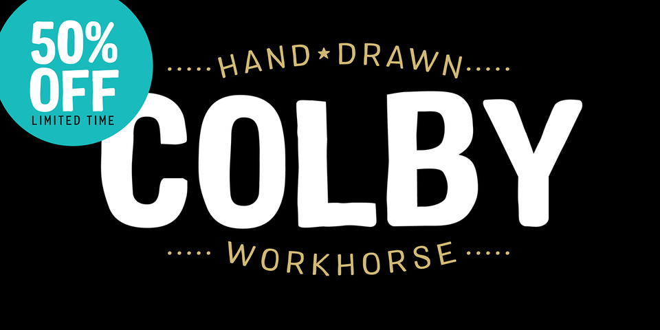 Special offer on Colby