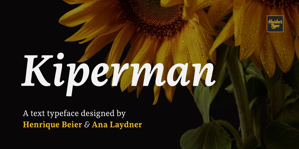 Kiperman font page
