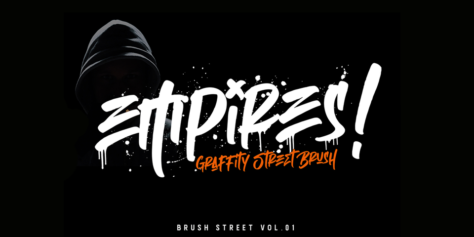 Empires font page