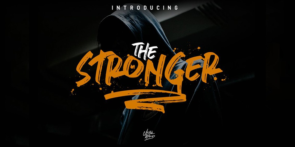 Stronger font page