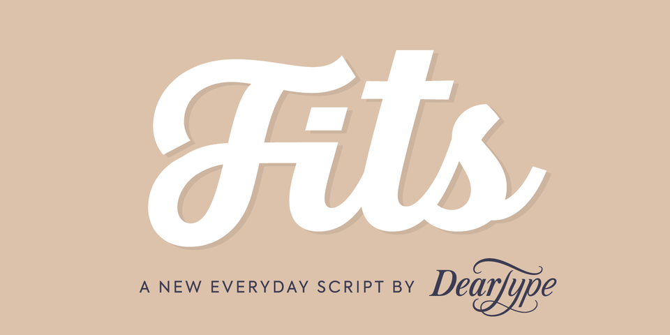 Fits font page