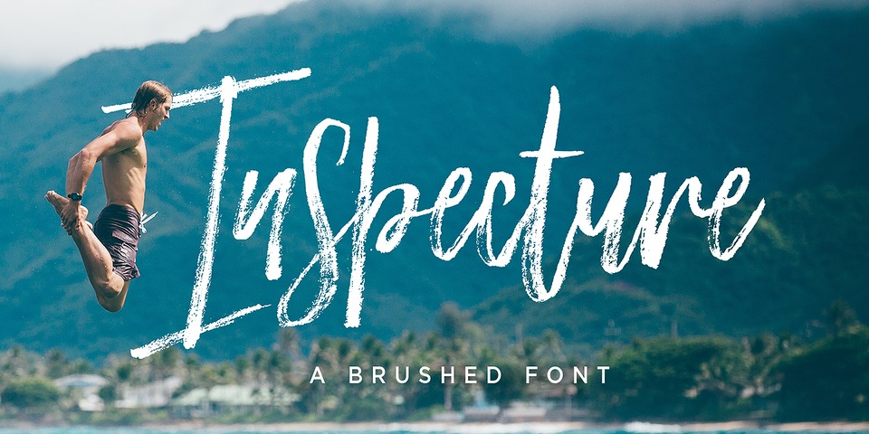 Inspecture font page