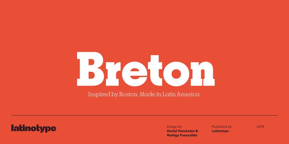 Breton font page