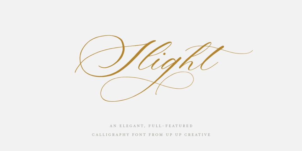 Slight font page