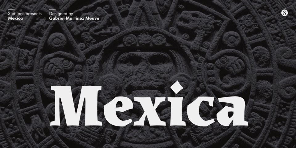 Mexica font page