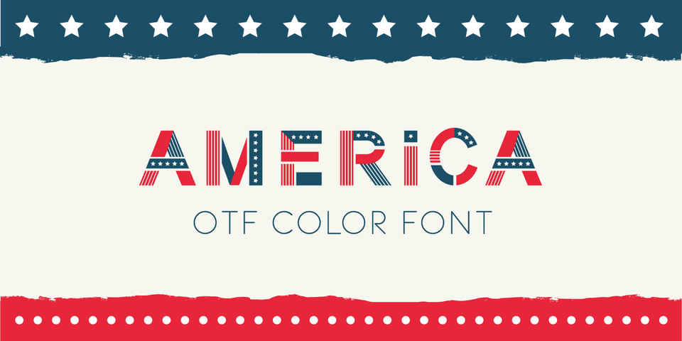 America font page