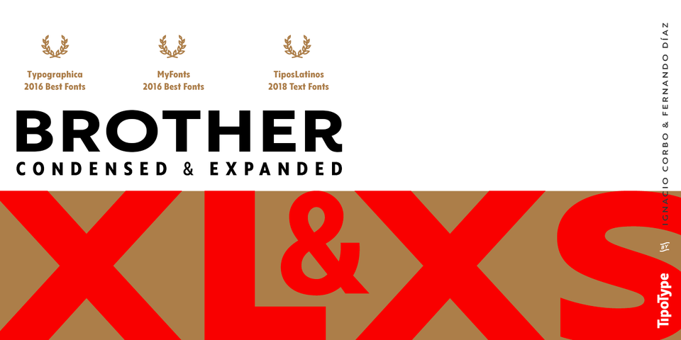 Brother XL&XS font page
