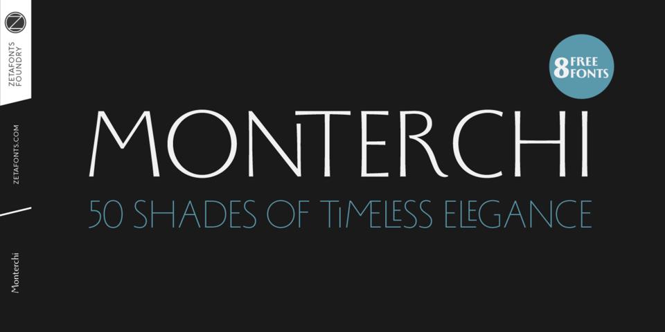 Monterchi font page