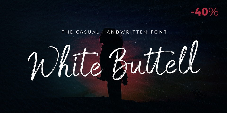 Special offer on White Buttell