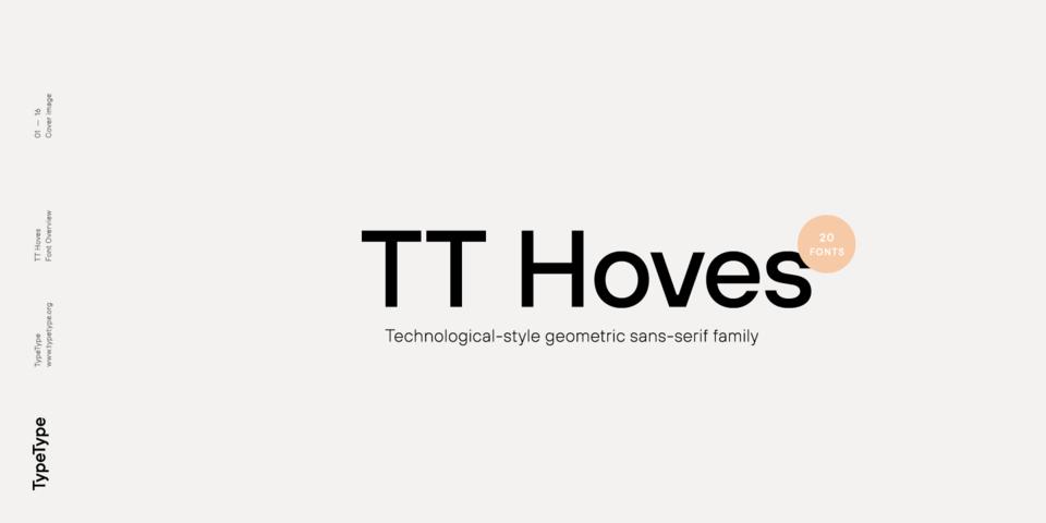 TT Hoves font page