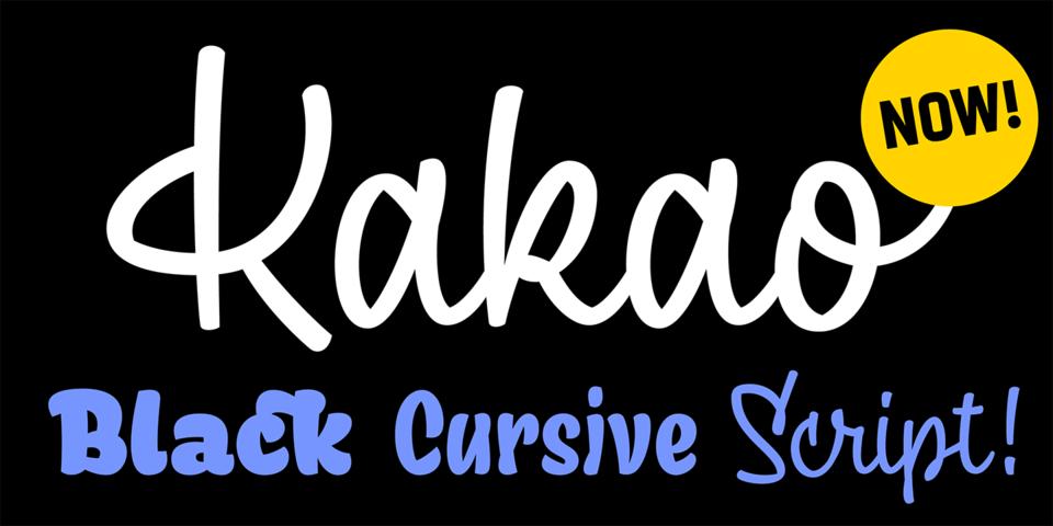 Kakao font page