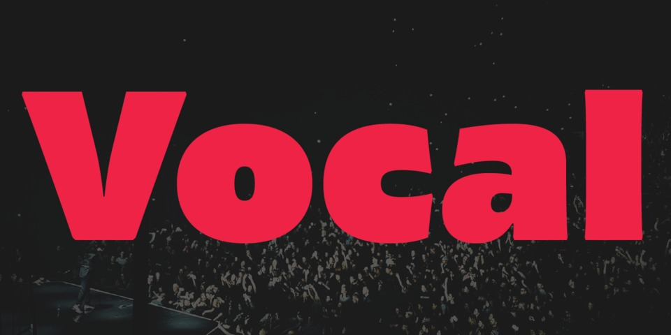 Vocal font page
