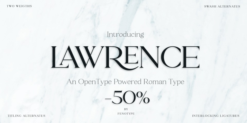 Special offer on Lawrence
