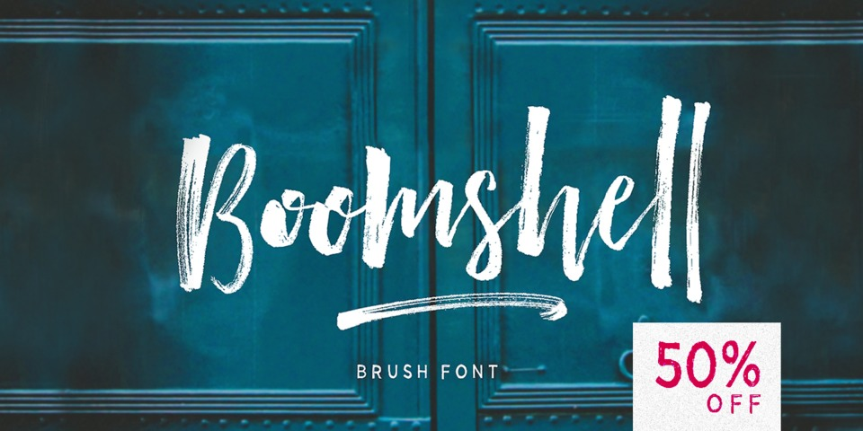Special offer on Boomshell Brush