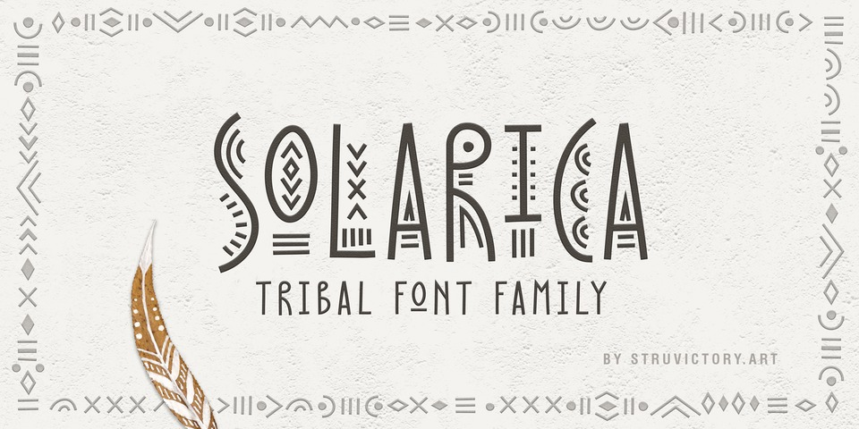 Solarica font page