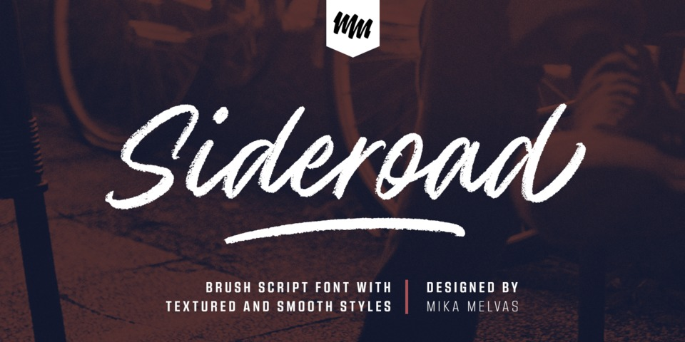 Sideroad font page