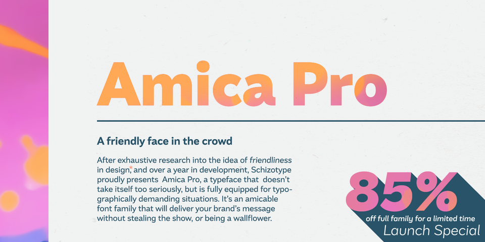Special offer on Amica Pro