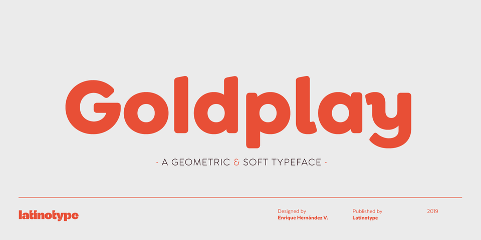 Goldplay font page