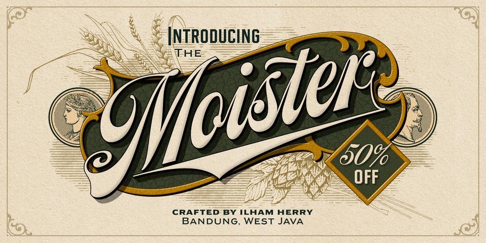 Special offer on Moister