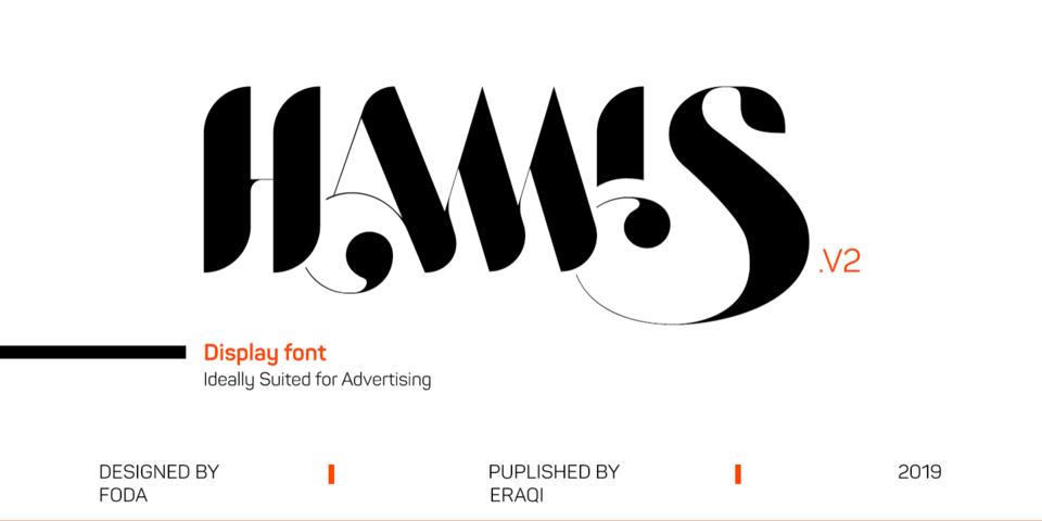 Hamis Vol 2 font page