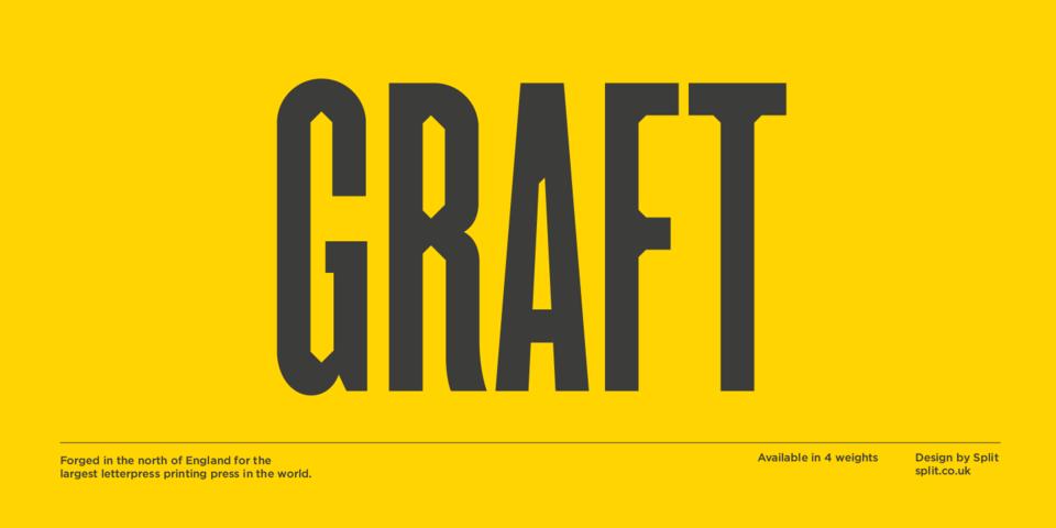 Graft font page