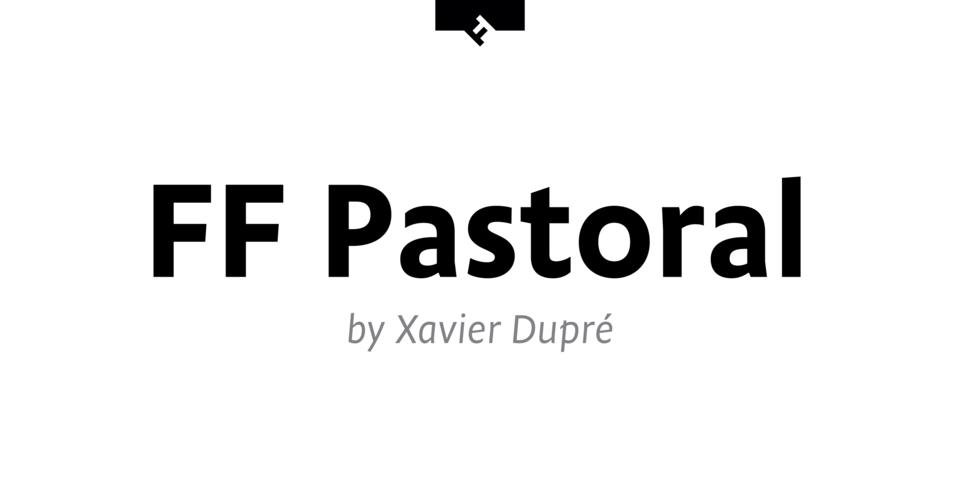 FF Pastoral font page