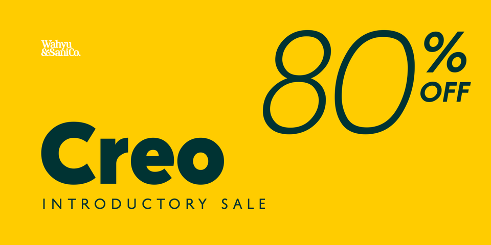 Special offer on Creo
