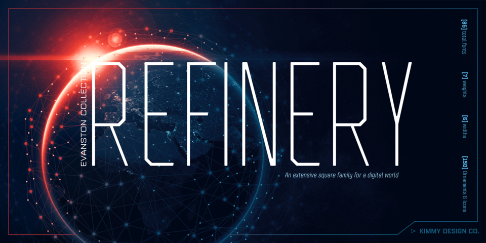 Refinery font page
