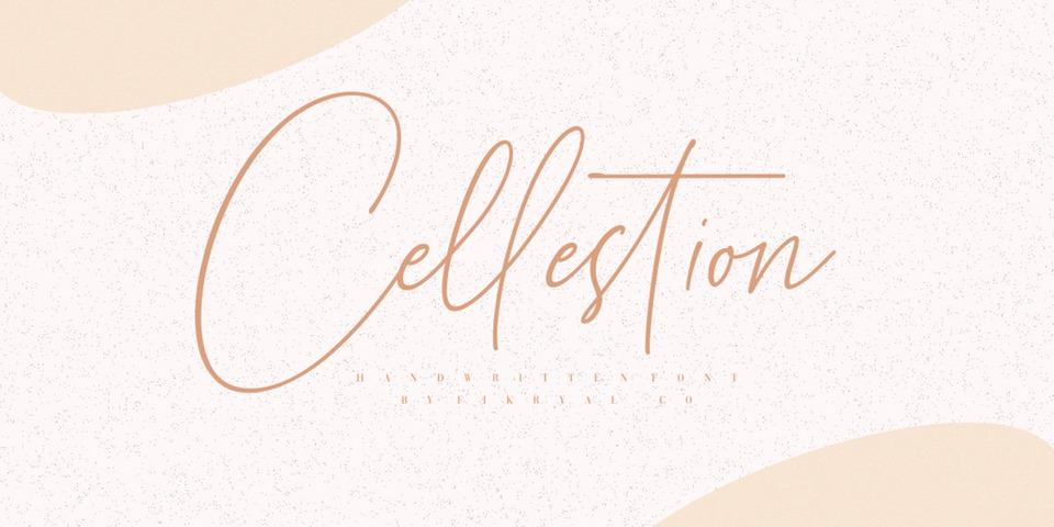 Cellestion font page