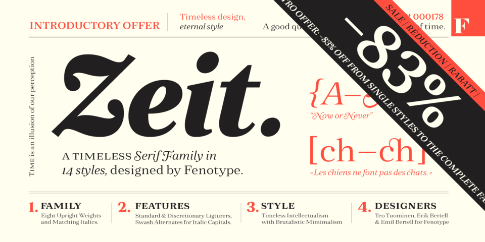 Special offer on Zeit