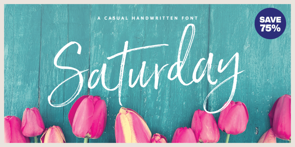 Special offer on Saturday Script
