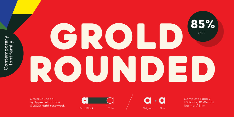 Special offer on Grold Rounded