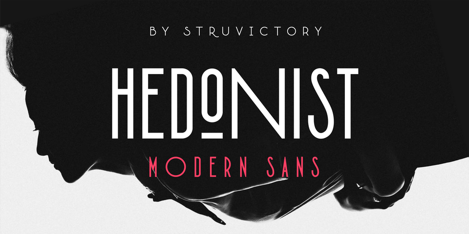 Hedonist font page