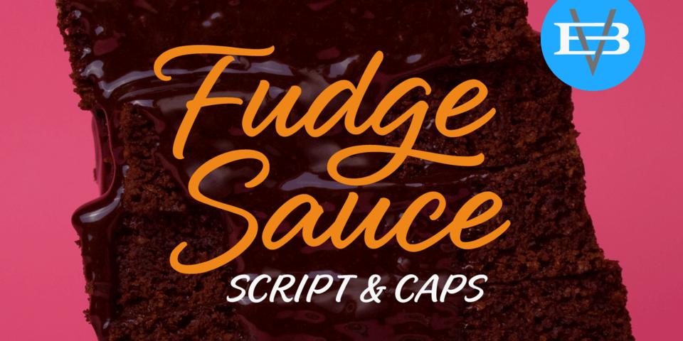 Fudge Sauce font page
