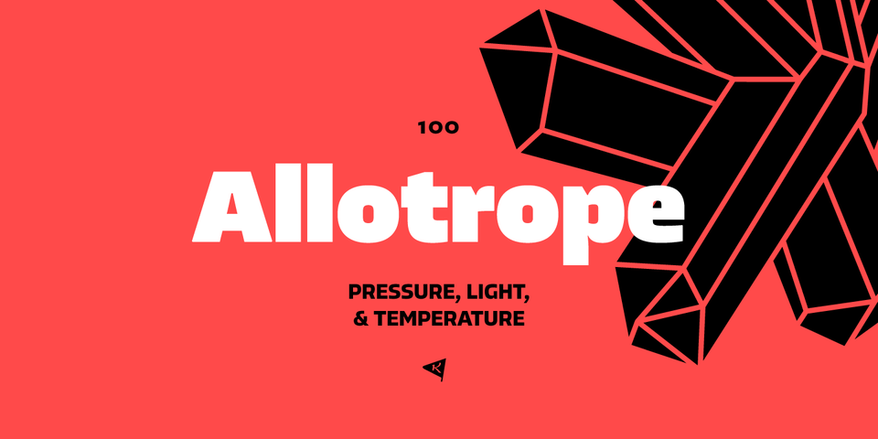 Allotrope font page