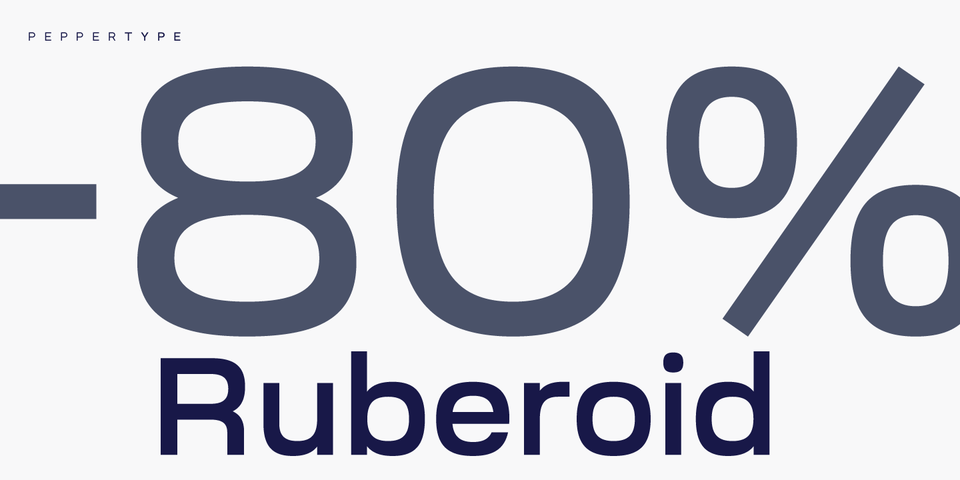 Special offer on Ruberoid