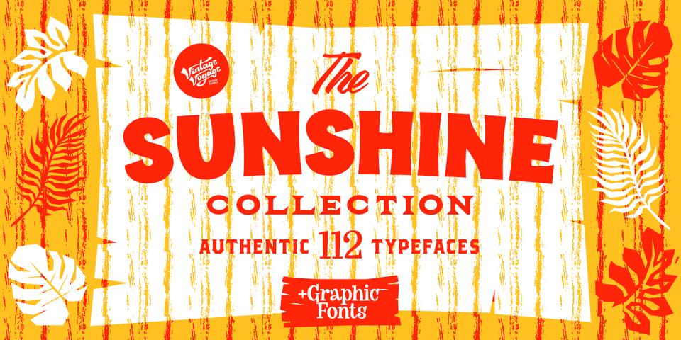 VVDS Sunshine Collection by Vintage Voyage Design Supply