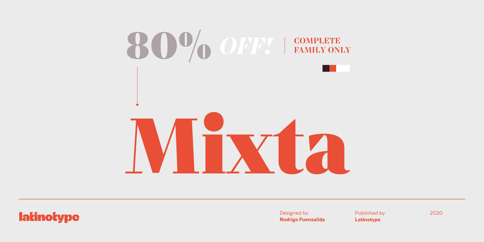 Special offer on Mixta