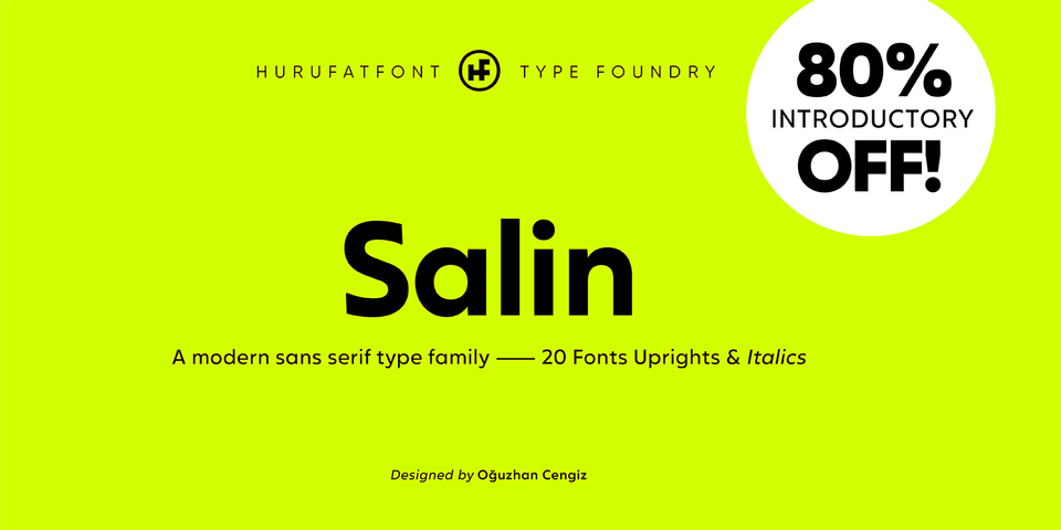 Special offer on Salin