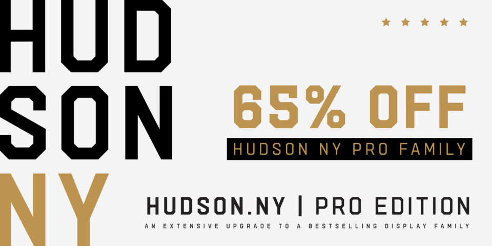 Special offer on Hudson NY Pro