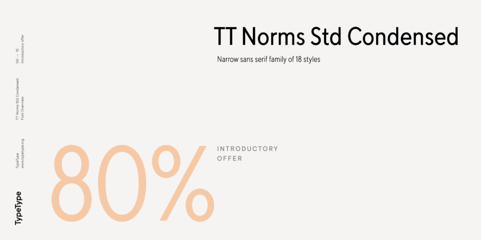 Special offer on TT Norms Std Condensed