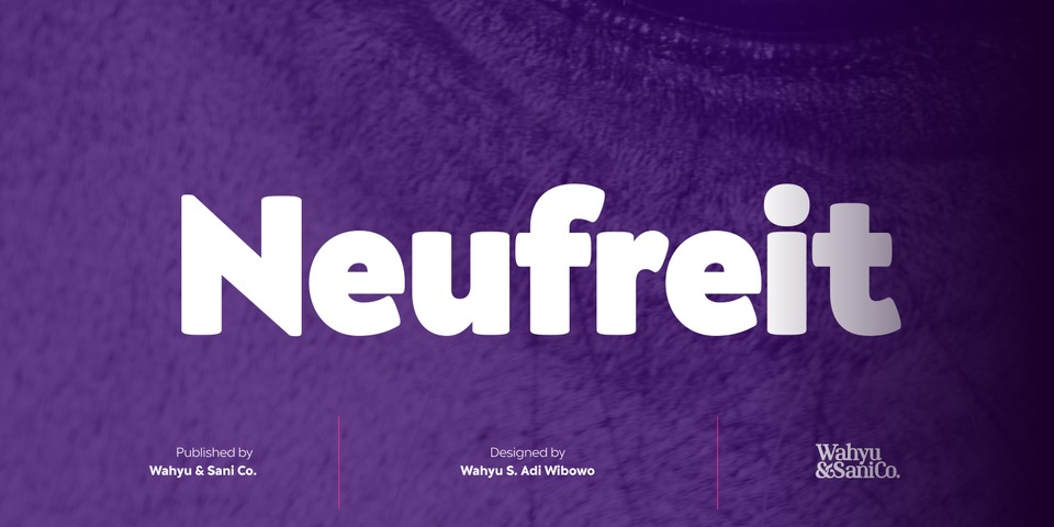 Neufreit font page