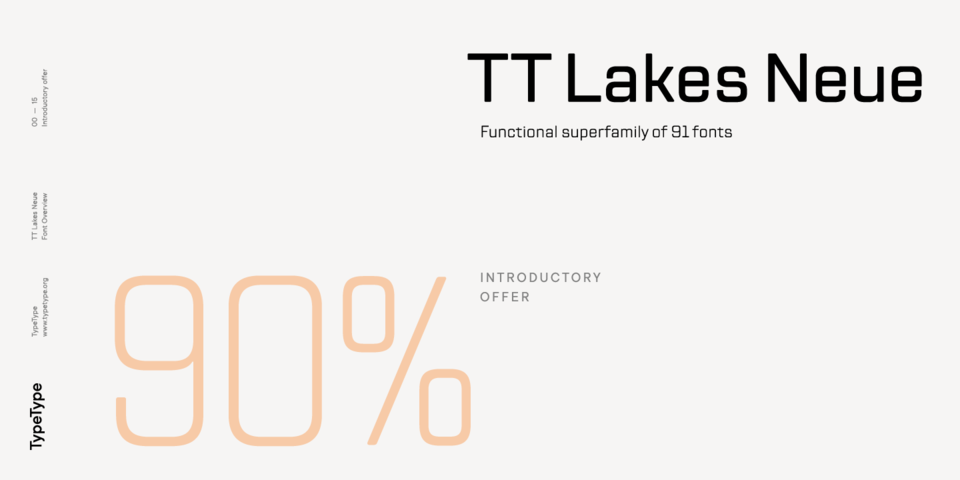 Special offer on TT Lakes Neue