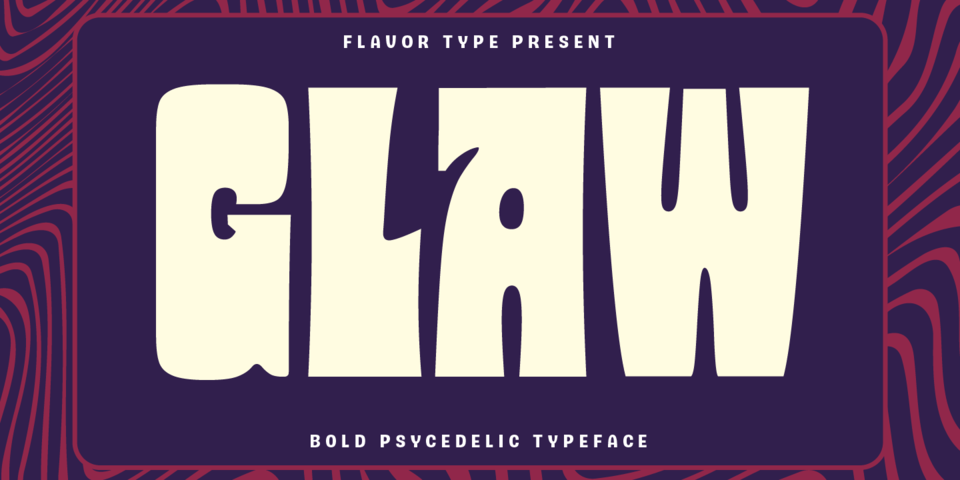 Glaw font page